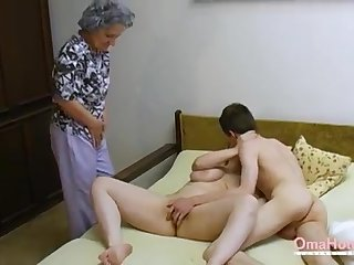 OmaHoteL Doyen Three-Way Furry Mature Getting Off
