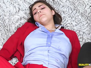 Mischa Brooks with an increment of Valentina Nappi got seduced at the end of one's tether ebony bangers
