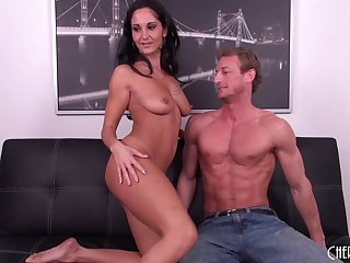 Chesty MILF Ava Addams gets lose concentration close-fisted pussy slammed